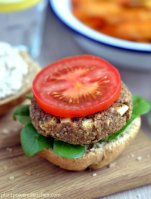 Apple & Walnut Burgers