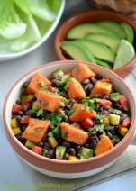 Smoky Sweet Potato and Black Bean