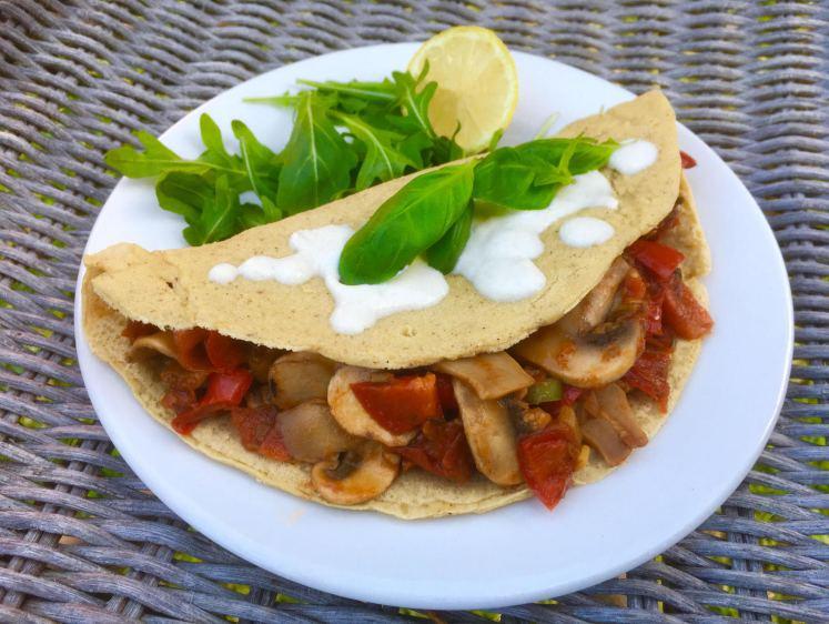 chickpea omelette 2